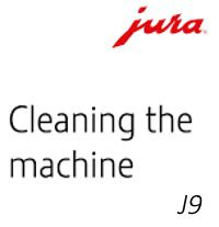 Cleaning a jura j9