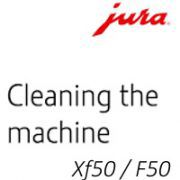 Cleaning a Jura Xf50 or F50