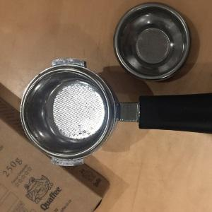 Basic steps in calibrating a grinder for espresso