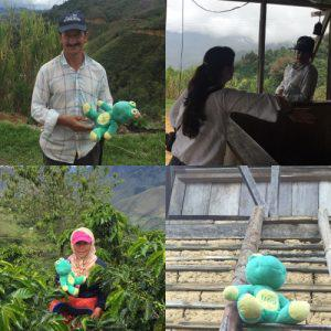 Day 1 (Pedregal) Colombia & La Piramide farmer Jesus Angel