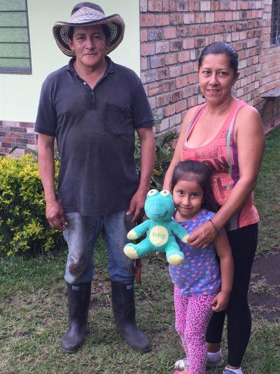 Pedro Trujillo and family an Asorganica producer