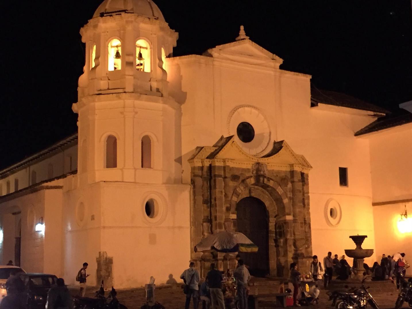 Colombia Popayan, Church