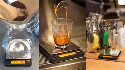 Brewista smart coffee scale uses