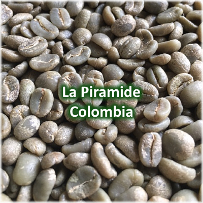 Green Coffee - La Piramide, Cauca, Colombia