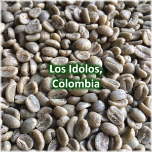 Green Coffee - Los Idolos, Colombia