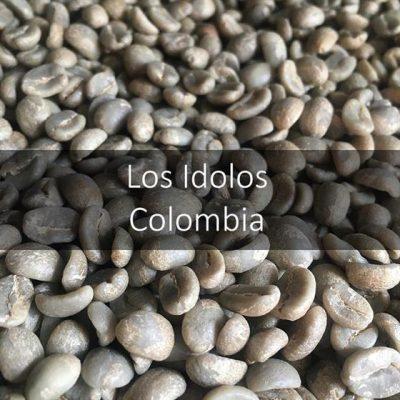 Green Colombian Los Idolos
