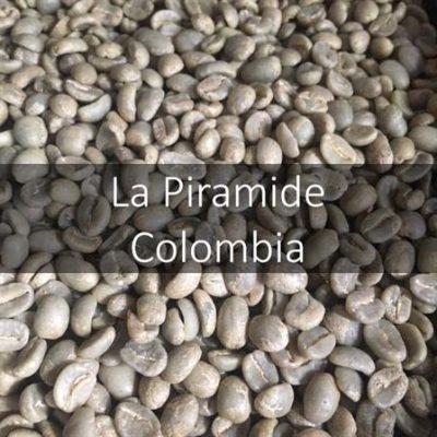 Green Coffee - La Piramide, Cauca, Colombia