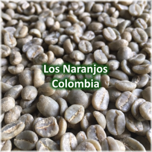 Green Coffee Los Naranjos, Huila, Colombia