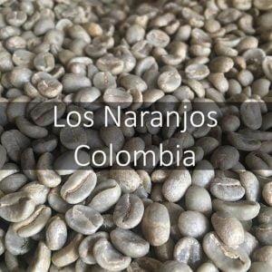 Green Colombian Los Naranjos