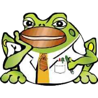 Frog Quaffer about to sign a service contract