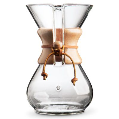 Chemex pour-over coffee maker (6 cup)