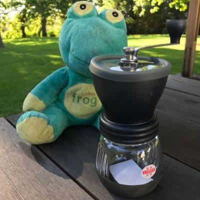 Hario Skerton Only Frog Quaffer