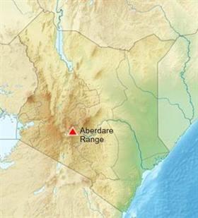 Kenya Aberdare Range
