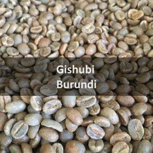 Burundi Gishubi 2018 Green