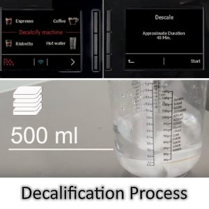 General Jura Decalcification/Descaling process