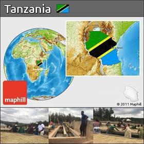 Tanzanian Map