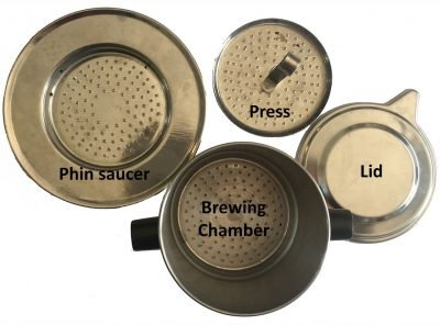 Phin brewer parts