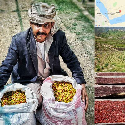 Yemeni Haraaz – secret coffee