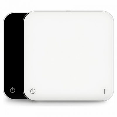 Acaia Pearl Coffee Scale both white and black