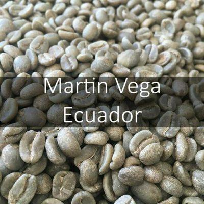 Green Ecuadorian Martin Vega