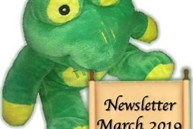 Quaffer Frog newsletter March 2019