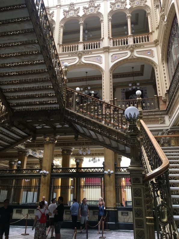 The National Post office Mexico City staircase